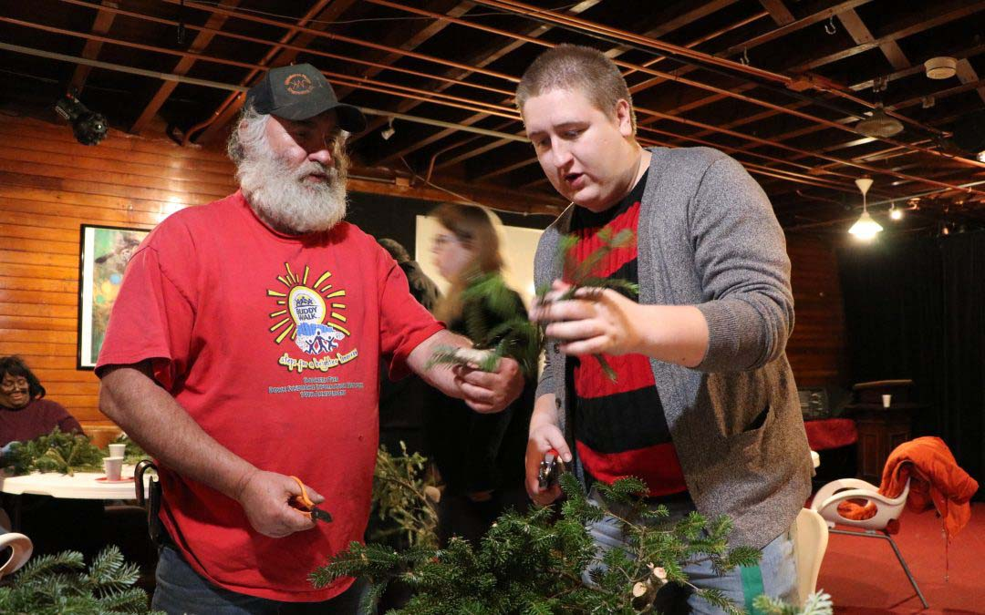 Wreath Making With Molyneaux Tree Farm