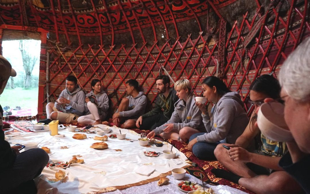 Cultural Bridge: A Cultural Heritage Exchange between New York Folklore and Youth of Osh