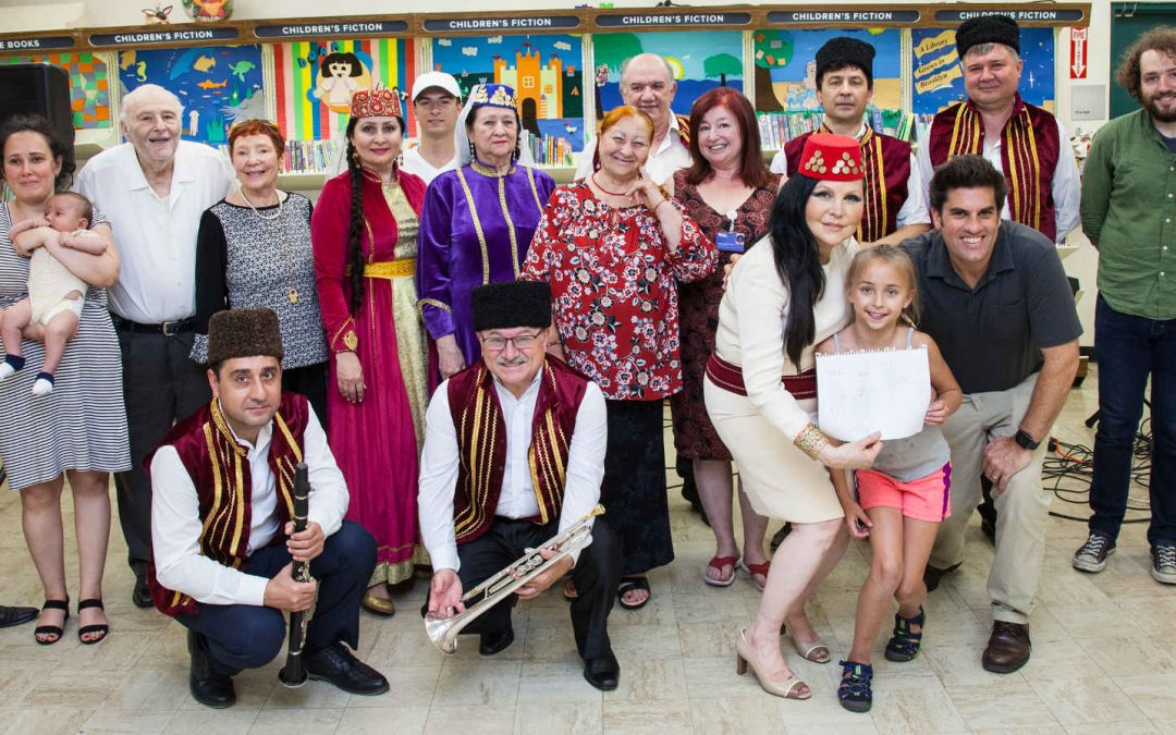 The Brooklyn Arts Council presents The Crimean Tatar Ensemble at the Sheepshead Public Library
